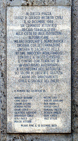 La strage di Piazza Fontana, un processo senza fine