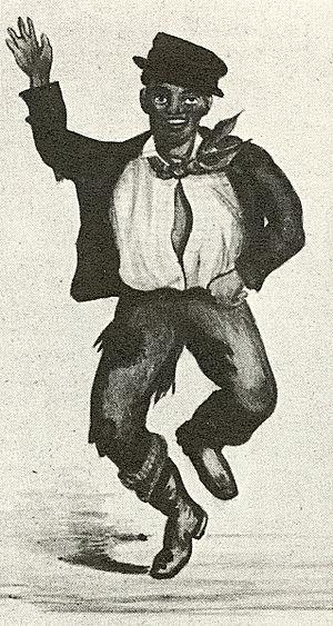 Minstrel dancer 1