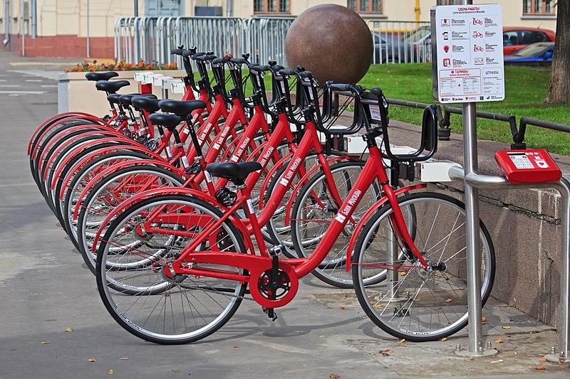 File:Moscow 09-13 img19 rental bikes.jpg