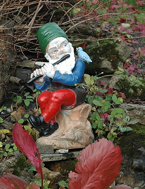 Norwegian garden gnome