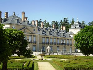 English: Royal Palace of El Pardo, Madrid, Spa...