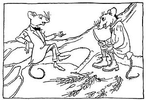 English: Arthur Rackham's illustration in Aeso...