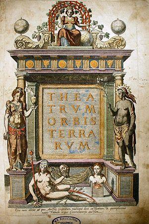 English: Theatrum Orbis Terrarum or Theatrum o...