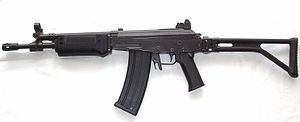 English: A Vektor LM5, the semi-automatic vers...