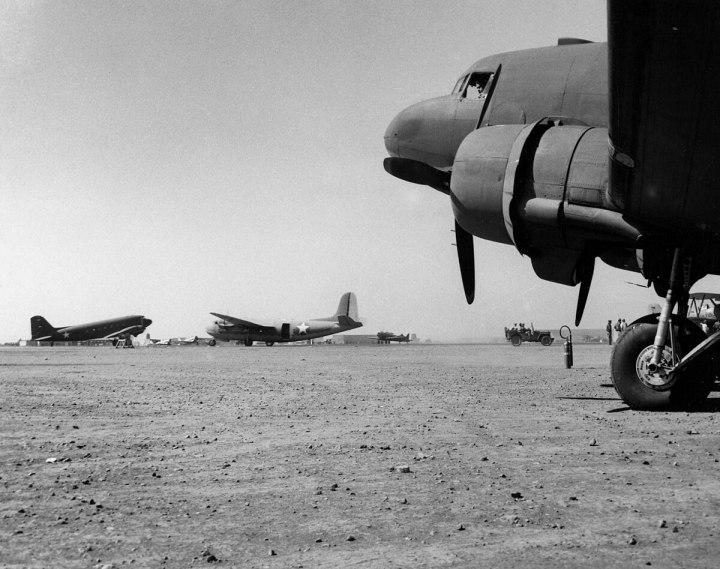 Camp Kearny Miramar Ranch 1942 warplanes