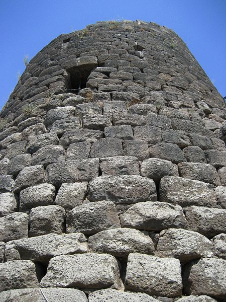 File:Central tower of the Nuraghe at Saint Antine of Torralba.jpg