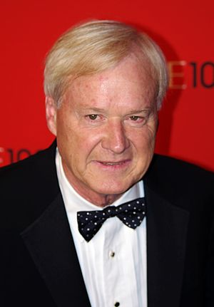 Chris Matthews at the 2011 Time 100 gala.