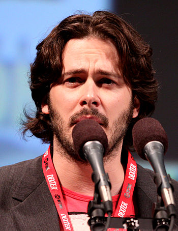 English: Edgar Wright at the 2010 Comic Con in...