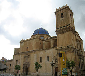Basílica menor de Santa María de Elche, Alican...