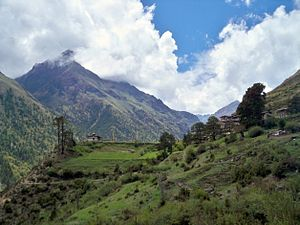 Himalayan Landscape in Bhutan