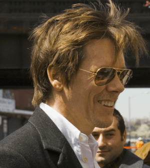 Kevin Bacon at the groundbreaking ceremony for...
