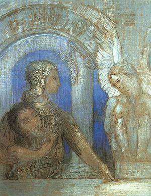 Redon mystical-knight