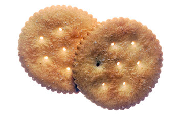 Two Ritz Crackers