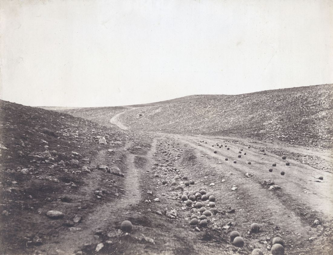Roger Fenton - Valley of the Shadow of Death