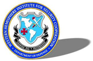 Official seal of the Western Hemisphere Instit...