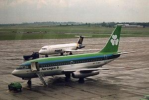 English: Aer Lingus (EI-BDY) Boeing 737-200 ai...