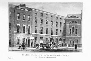House of Joseph Banks and office of the Zoolog...