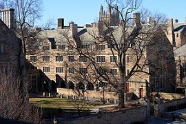 The south building of Berkeley College at Yale...