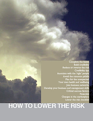 English: Cover for Sustainable Business Booklet.