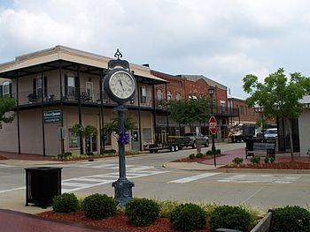 English: Downtown Thomasville, Alabama. The in...