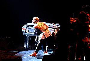 Elton John live, 1975