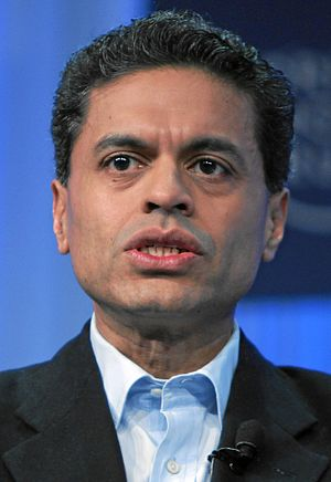 English: Fareed Zakaria, American journalist a...