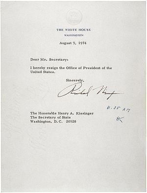 President of the United States Richard M. Nixo...