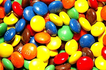 A lot of M&M's.