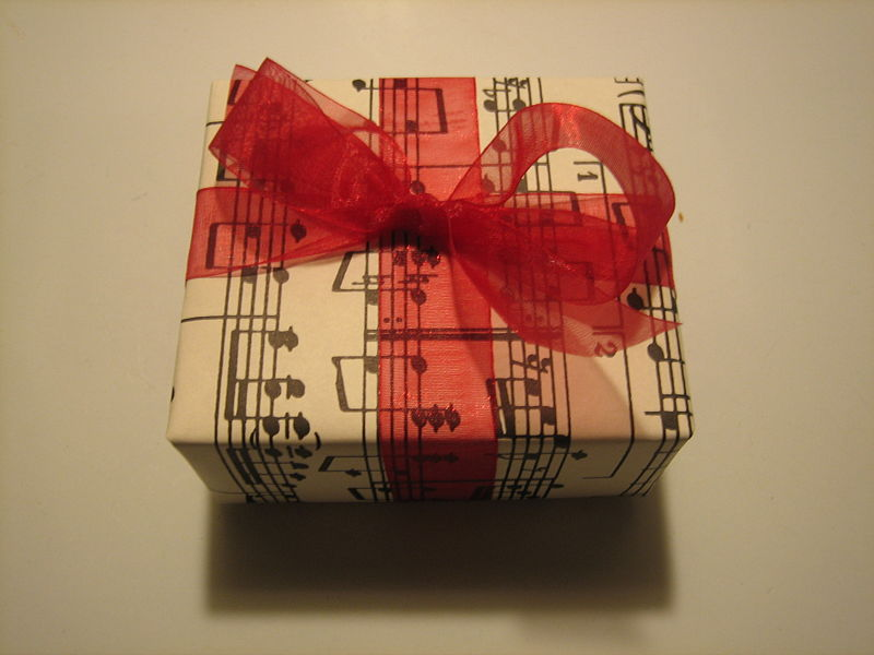 A musical present, by Marta Crowe from Rochester, USA