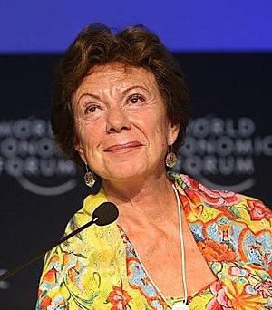 Neelie Kroes is the current European Commissio...