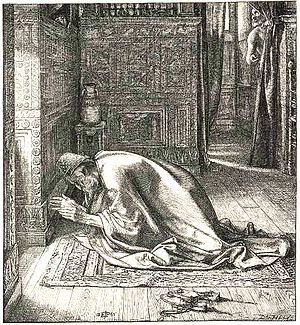 "English: ""Daniel's Prayer"" (1865) by..."