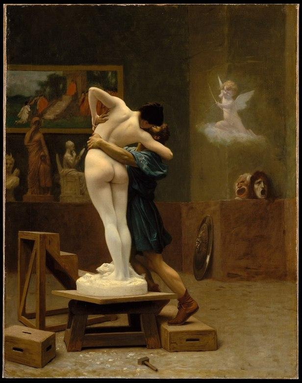 """""""Pygmalion and Galatea"""" by Jean-Léon Gérôme"""