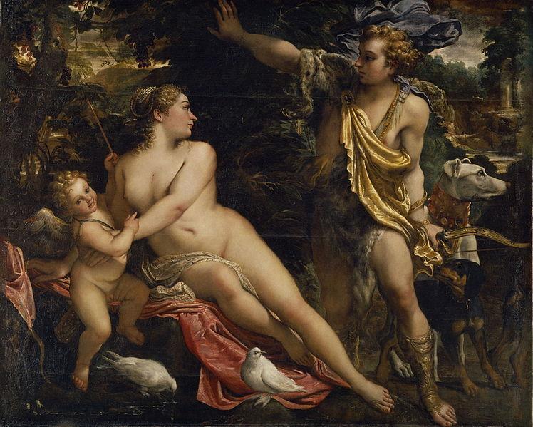 File:Venus, Adonis y Cupido (Carracci).jpg