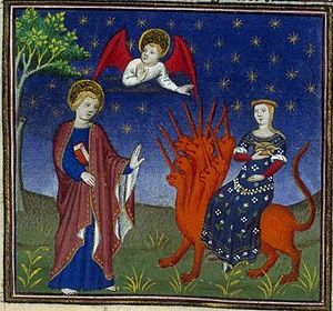 "Whore of Babylon (french illuminated ""Boo..."