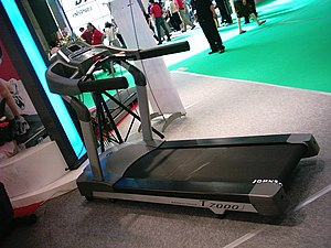 Johnson T7000 Treadmill @ TaiSPO 2006.