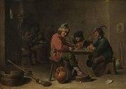 Drei musizierende Bauern by David Teniers d. J. 003