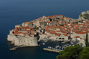 Croatia Dubrovnik Adriatic UNESCO