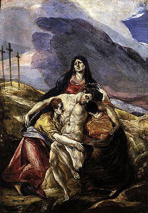 """""""Pieta"""" by El Greco, 1571-1576. Phil..."""