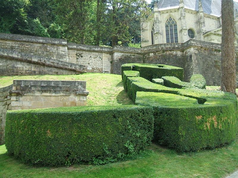 Foliage at Château d'Ussé