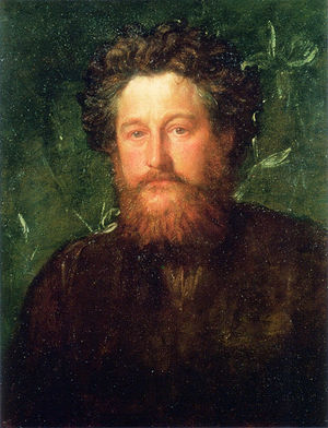 English: Portrait of William Morris by George ...