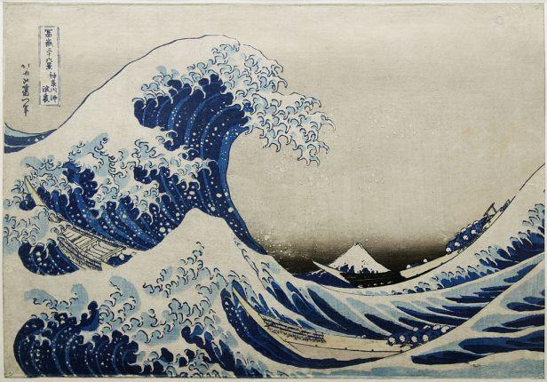 """The Great Wave off Kanagawa"" by Katsushika Hokusai"