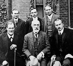 Hall Freud Jung in front of Clark