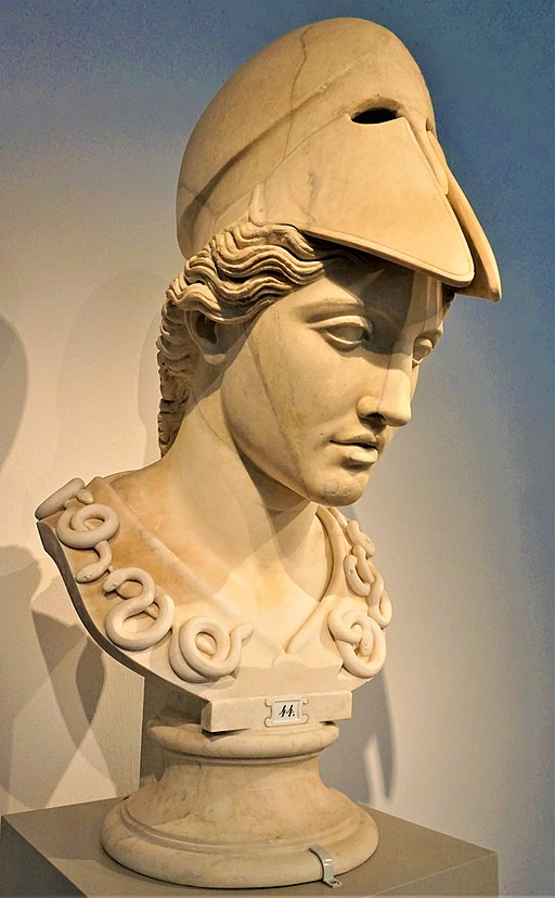Head of Athena in the Velletri Type - Altes Museum - Joy of Museums