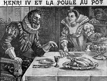 Henry IV et la poule au pot
