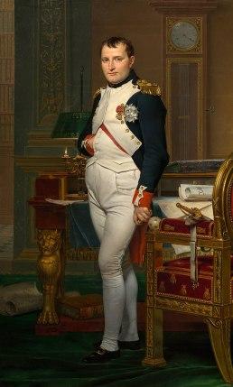Napoléon dans son cabinet de travail, Jacques-Louis David, 1812.