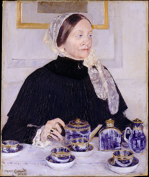 """Lady at the Tea Table"" by Mary Cassatt"