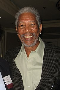 Morgan Freeman, October 2006