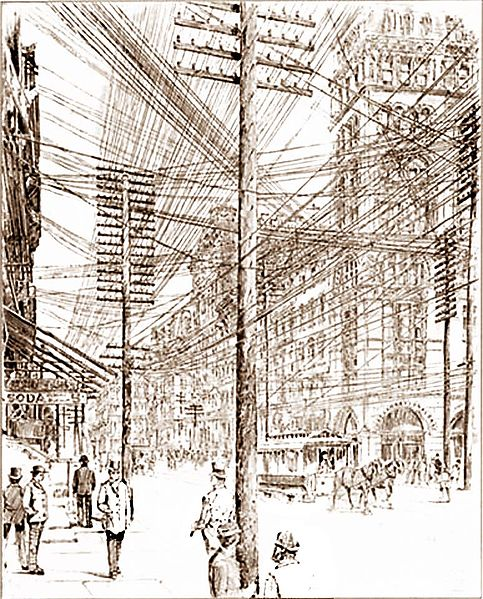 Wired City of 1890