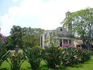Hacienda e iglesia de El Lencero, Emiliano Zap...