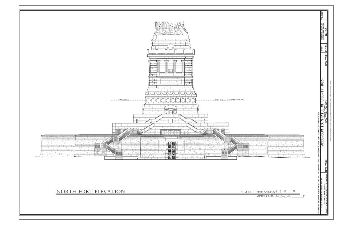 File North Fort Elevation